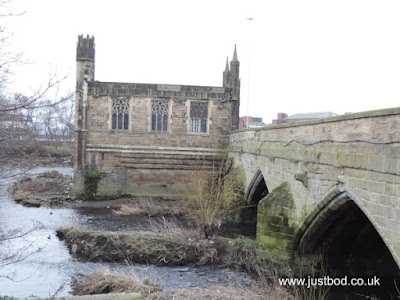 Wakefield Chantry Chapel and medieval Bridge