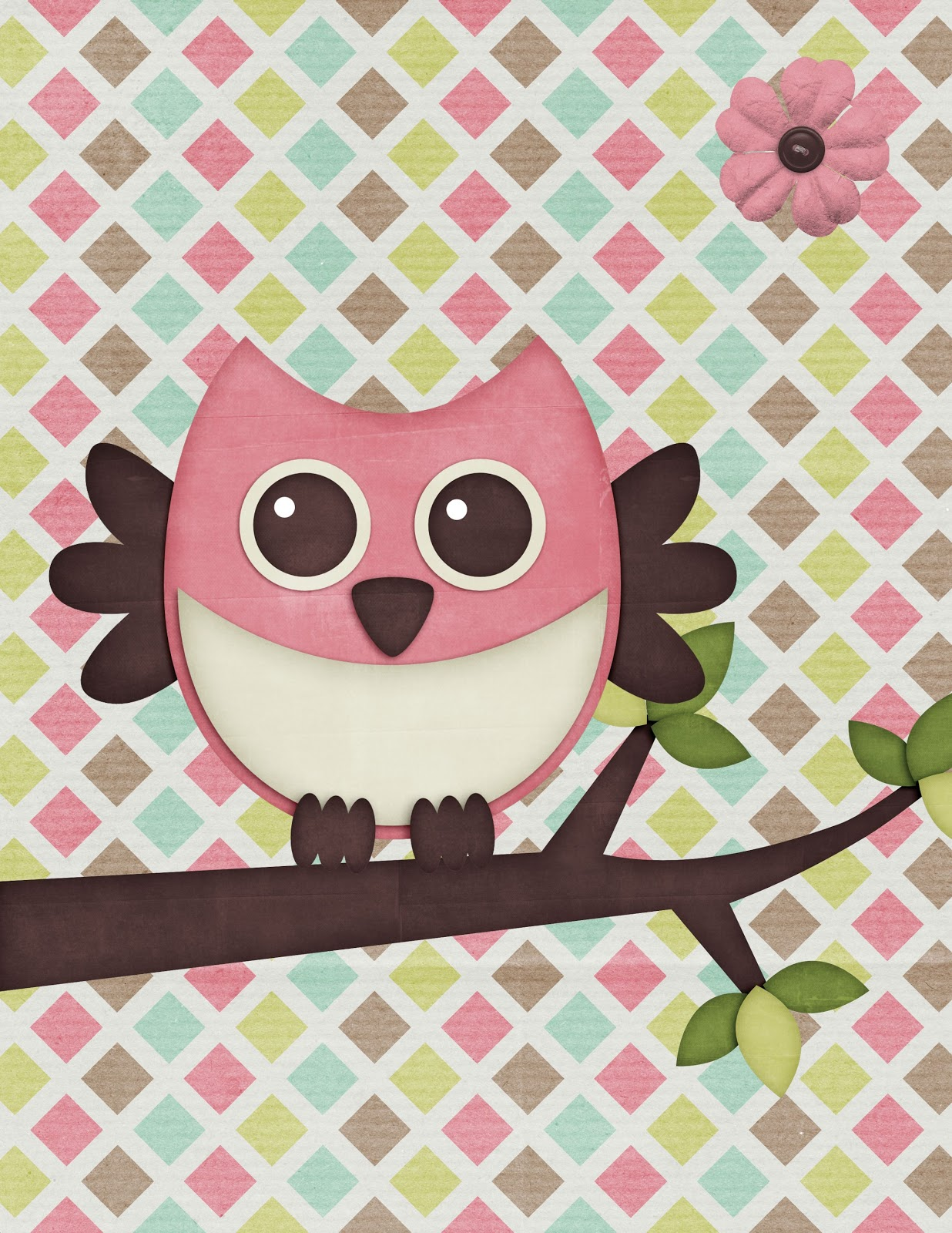 - The Cozy Red Cottage: Free Owl Printables