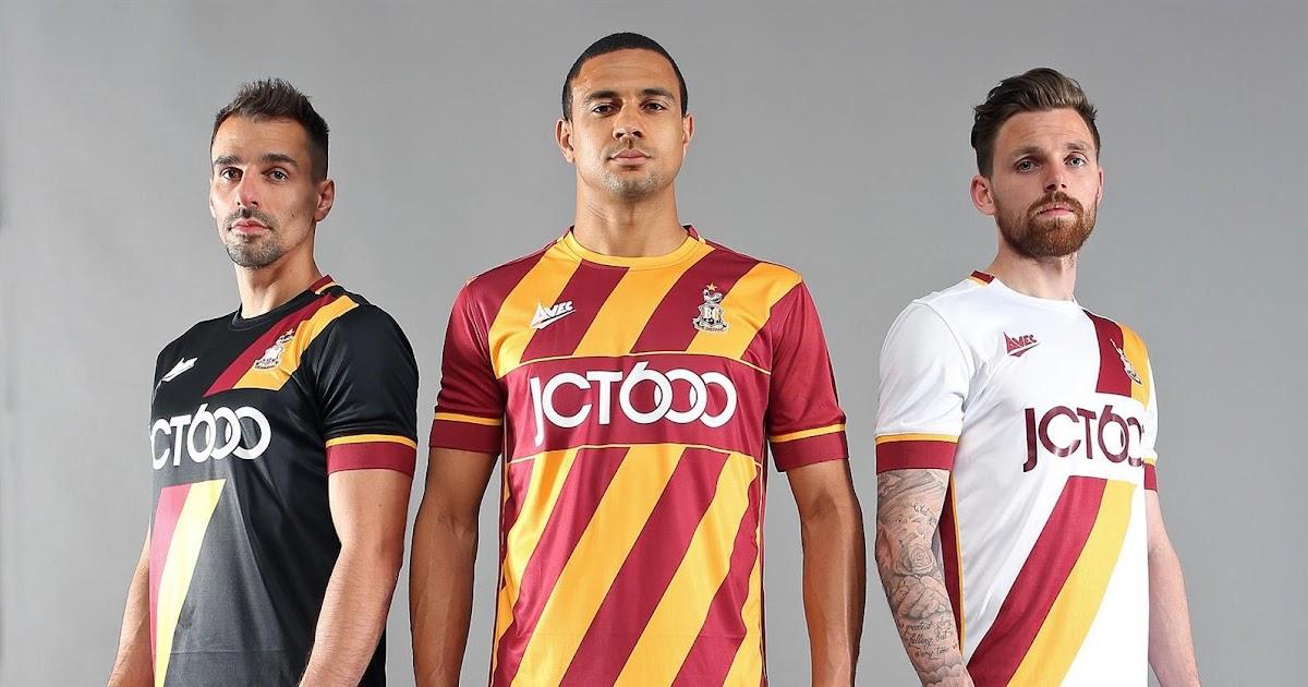 Bradford City 16-17 Kits Released - Footy Headlines