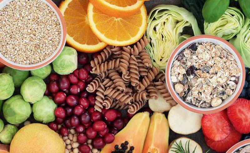 Foods high in fiber may help people lose weight, live longer