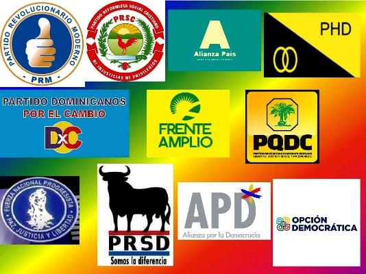 Resultado de imagen para partidos oposición rd