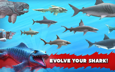 hungry shark evolution hacked apk download for Android