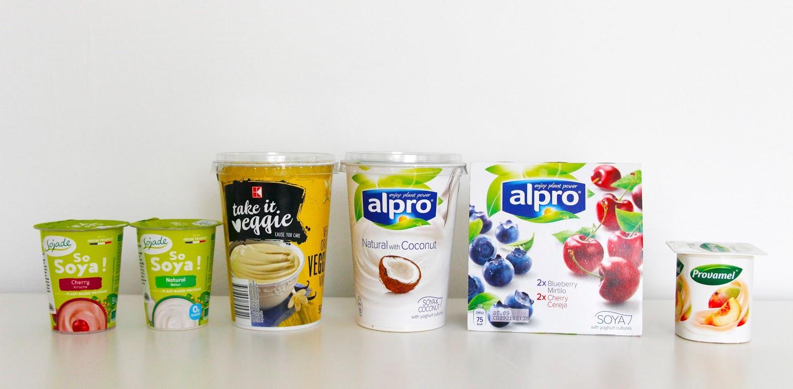 Rostlinné jogurty