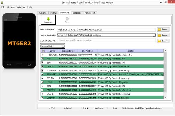 Cara Flashing Vivo Y15 via PC dan Tanpa PC full Gambar 100% Sukses