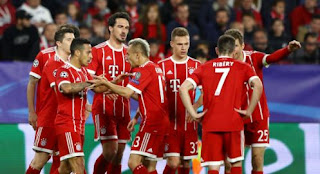 Sevilla vs Bayern Munich 1-2 Video Gol Highlights
