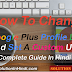 Google Plus Profile Ki Custom URL Kaise Set (Change) Kare