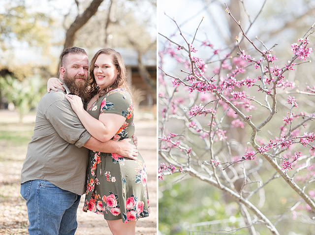 San Antonio Wedding Photographer, Cibilo Nature Center Engagement Pictures