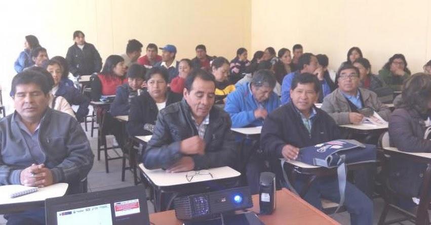 UGEL Santiago de Chuco organiza jornada de capacitación para docentes 2017 - www.ugelsantiagodechuco.gob.pe