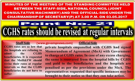 cghs-rates-should-be-revised-regularly