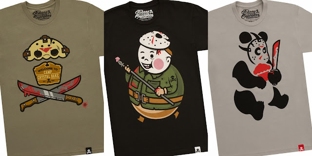 Friday the 13th Movie T-Shirt Collection by Johnny Cupcakes