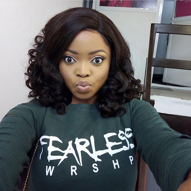 Actress Juliana Olayode