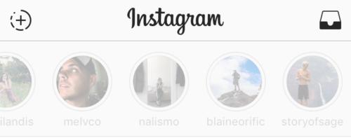 iPhone instagram Hikayeleri gizleme