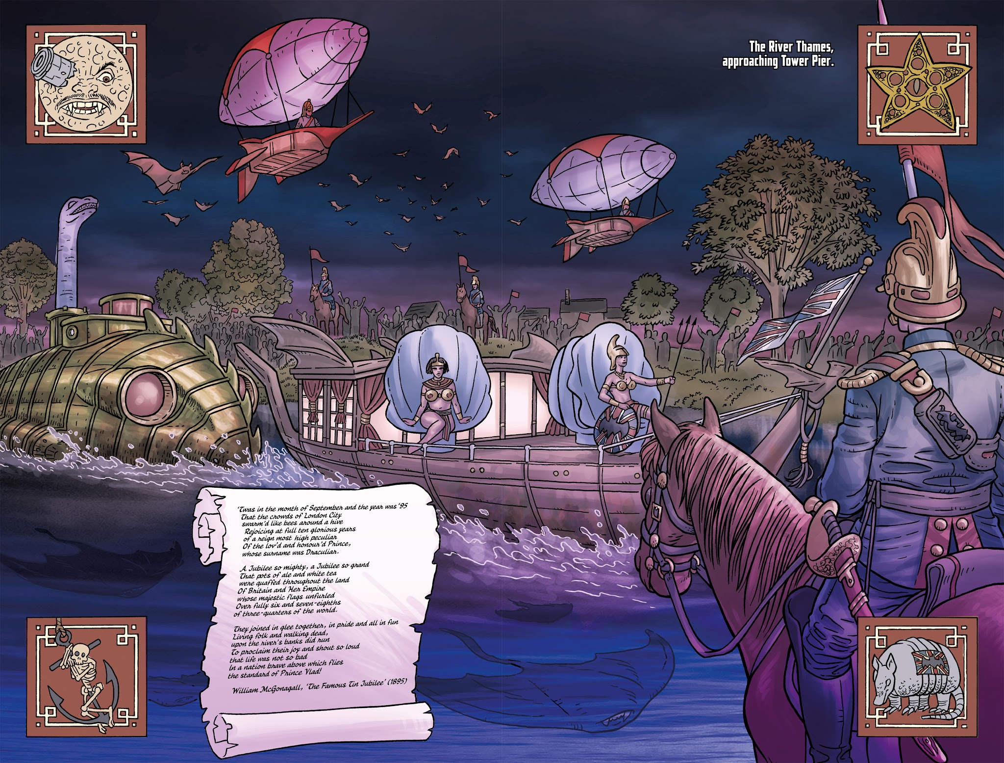 Read online Anno Dracula comic -  Issue #4 - 17