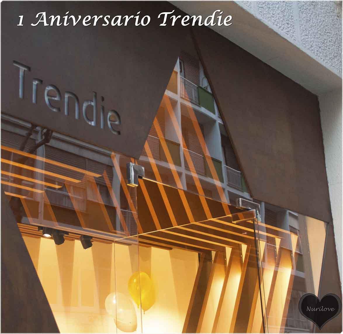 Primer aniversario tienda de moda Trendie