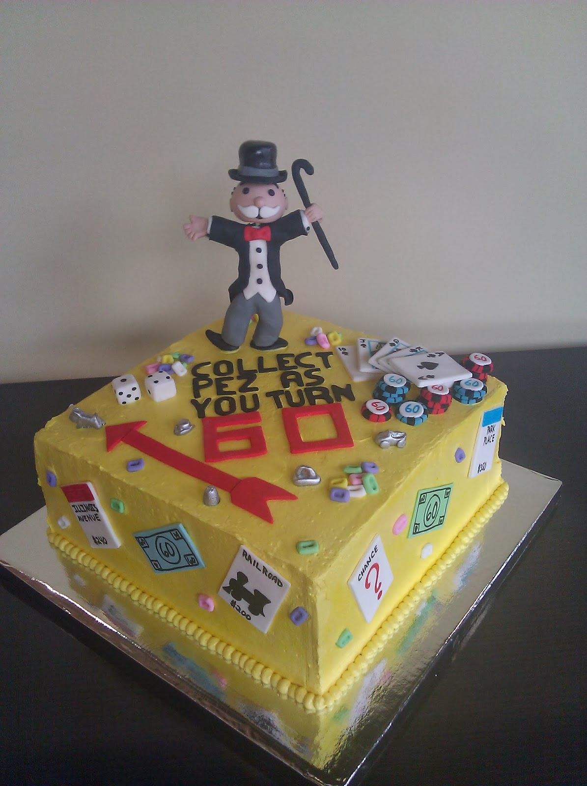 Monopoly Man Cake Ella Vanilla