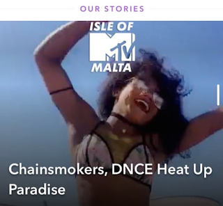 dancer in mtv the grind snapchat story