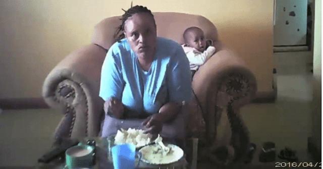 CCTV Camera Captures a Nanny Physically Abusing a Toddler