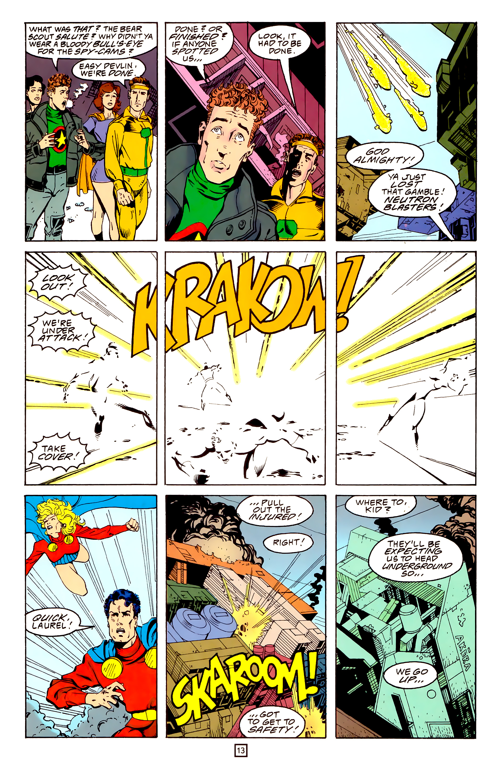 Legion of Super-Heroes (1989) 25 Page 13