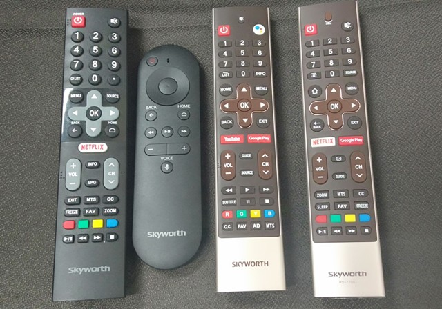Skyworth Android Remote Netflix and None Netflix Model