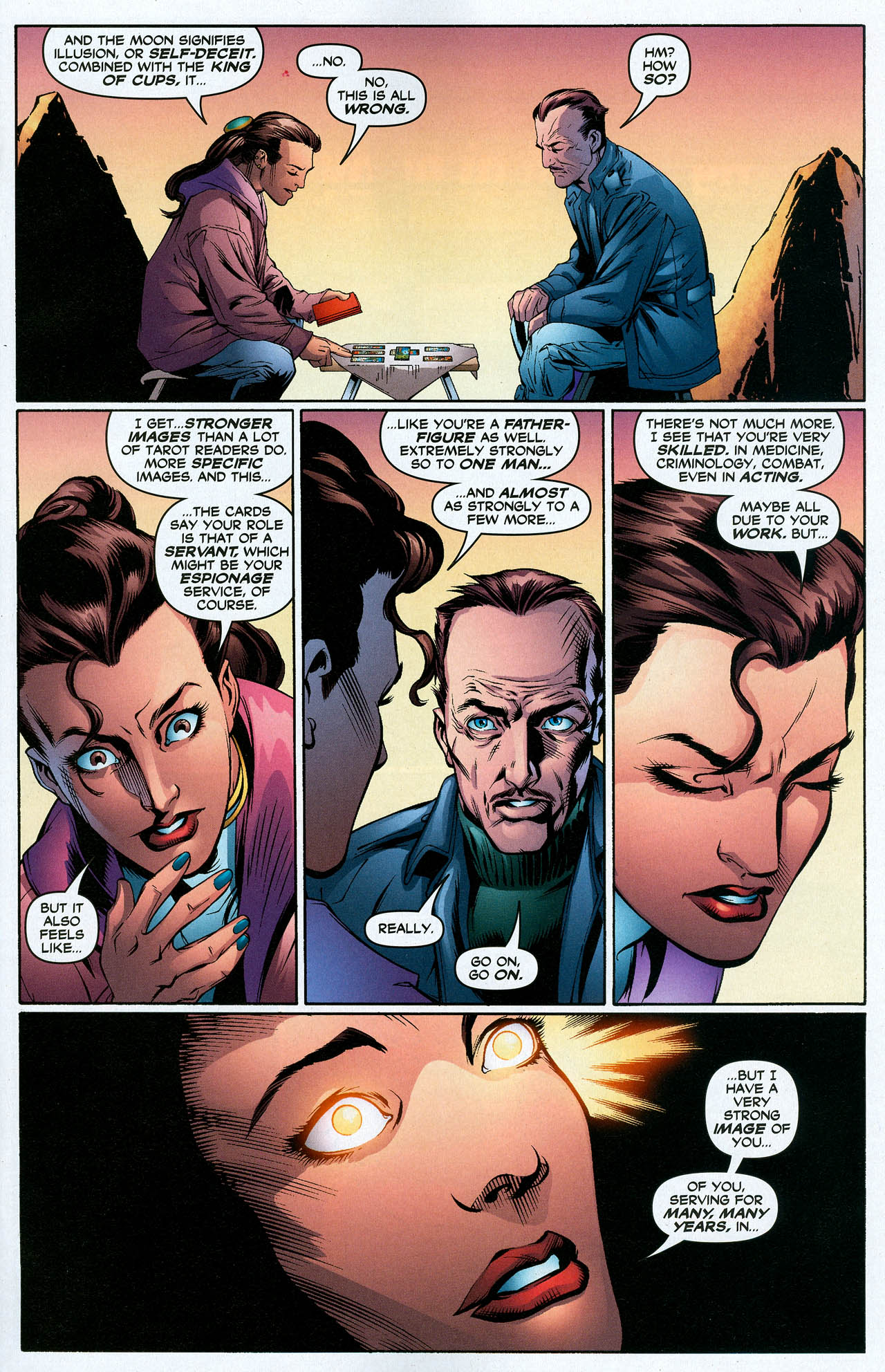 Read online Trinity (2008) comic -  Issue #19 - 15