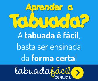 Aprenda a Tabuada de forma fácil
