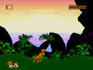 【MD】獅子王原版+無敵版(The Lion King),迪士尼經典電影改編遊戲!