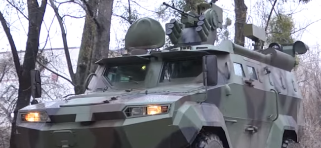 новий бронеавтомобіль «Тритон»