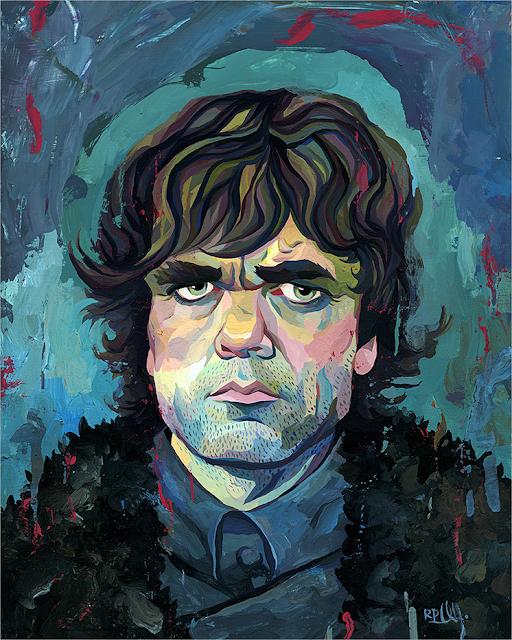 """Rich Pellegrino """"Tyrion"""""""