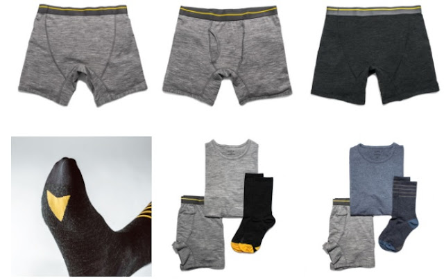 Merino Wool Underwear & Socks
