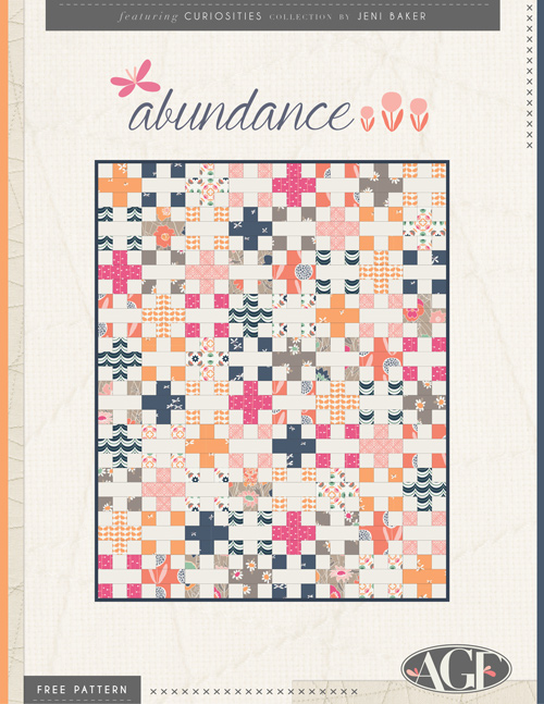 Abundance Free Quilt Pattern - In Color Order