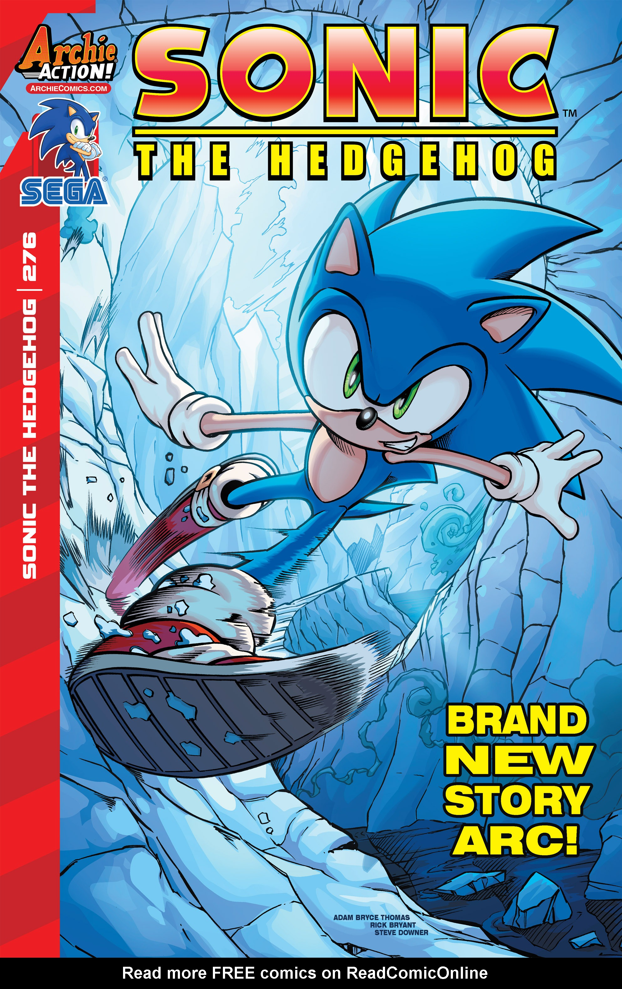 Read online Sonic The Hedgehog comic -  Issue #276 - 1