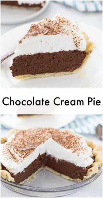 Chocolate Cream Pie Recipe Easy 3 Ingredients