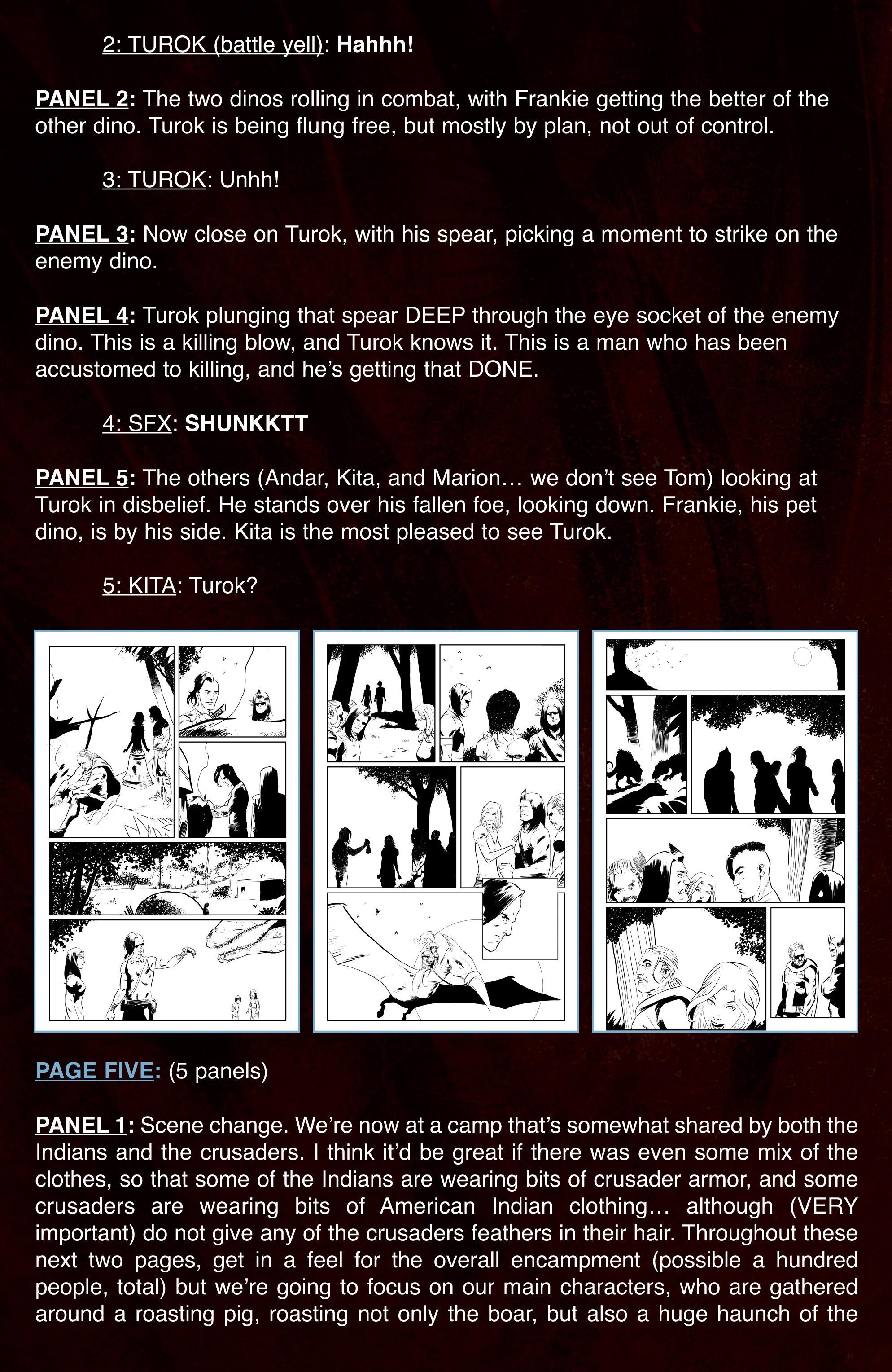 Read online Turok: Dinosaur Hunter (2014) comic -  Issue # _TPB 3 - 95
