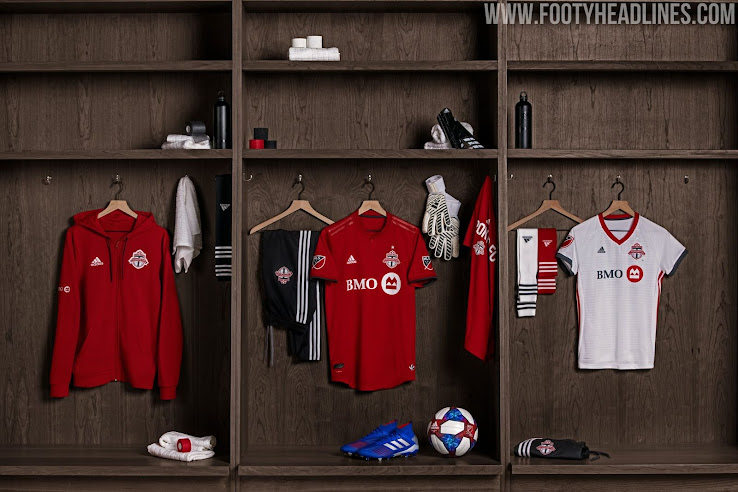 new product 5951d 40fec Toronto FC 2019-2020 Home Kit Released - Footy Headlines