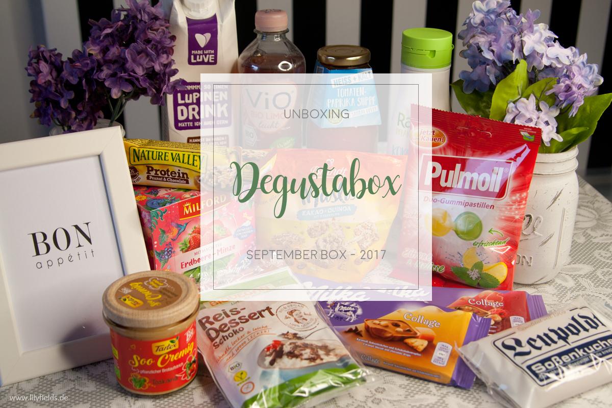 Degustabox - September 2017