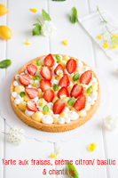 http://moi-gourmande.blogspot.fr/2016/06/tarte-aux-fraises-creme-citron-basilic.html