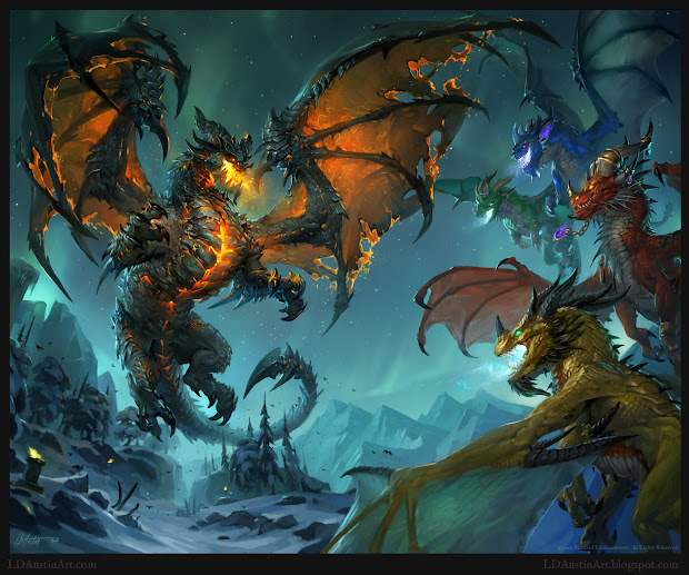 World of Warcraft Dragon Fan Art