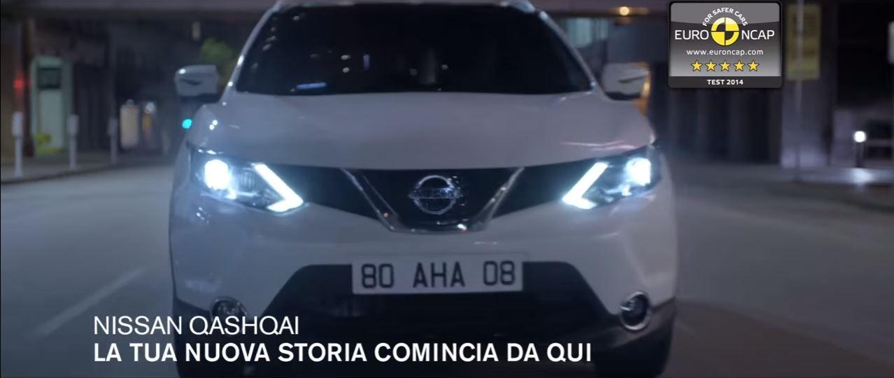 Canzone Pubblicità Nissan QASHQAI con Safety Shield