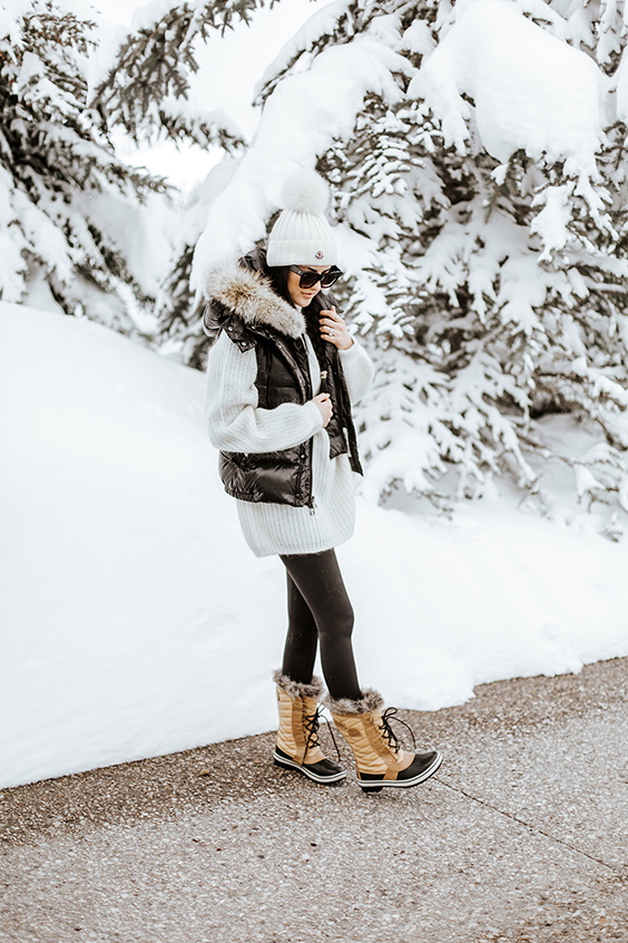 The Peak of Très Chic: Snow Boot Chic
