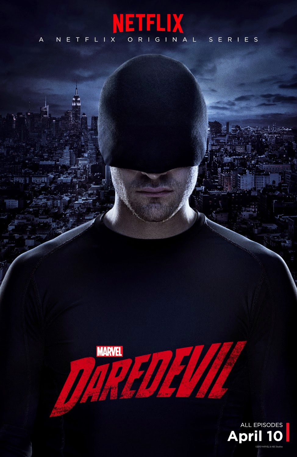 Marvel's Daredevil Teaser One Sheet Television Poster #3
