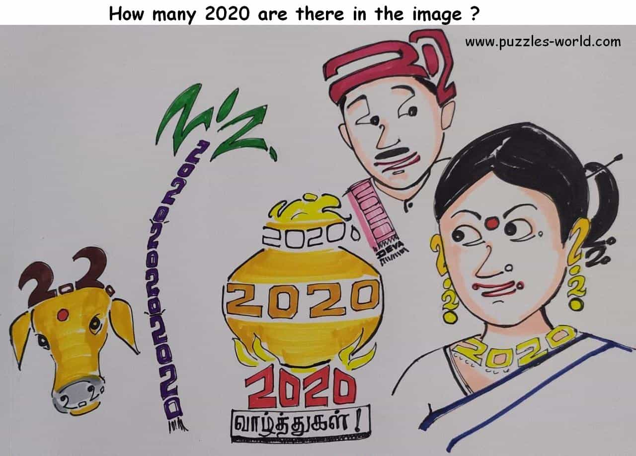 How many 2020 are there in the image ?