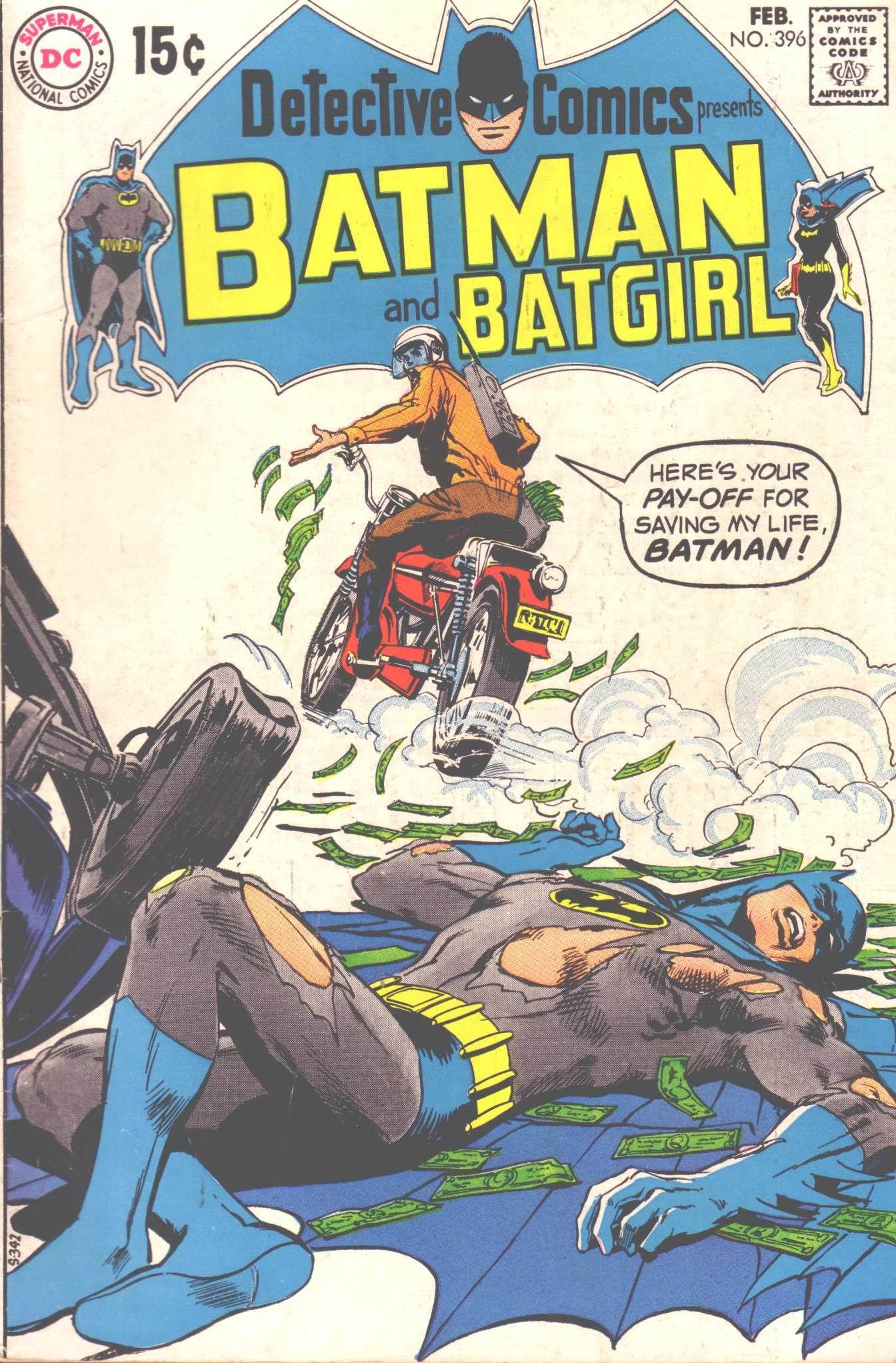 Detective Comics (1937) 396 Page 1
