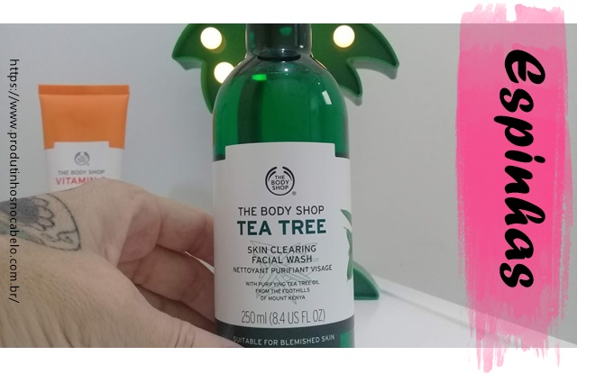 Gel De Limpeza Facial Tea Tree da The Body Shop