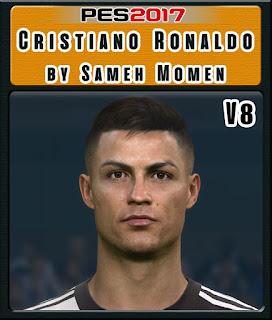 PES 2017 Faces Cristiano ♔ Ronaldo by Sameh Momen