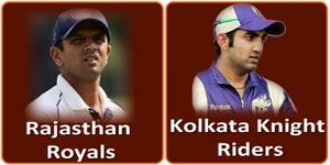 आइपीएल 6 का सैंतालीसवां मैच 3 मई 2013 को होने जा रहा है।