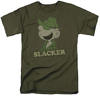 Image: Beetle Bailey Cotton T-Shirt Military Green Adult Men's Women's Short Sleeve T-Shirt