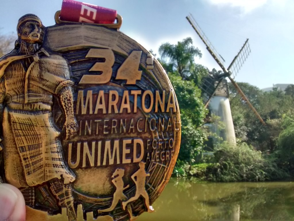 Medalha da Maratona de Porto Alegre