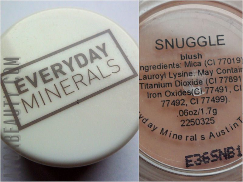 Everyday Minerals, Snuggle