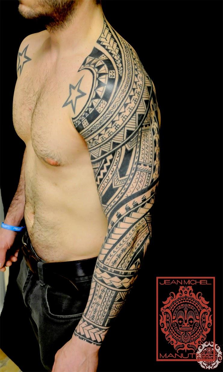 Samoan Tattoo: Tatouage Polynesien And Norse Tattoo: Samoa Borneo