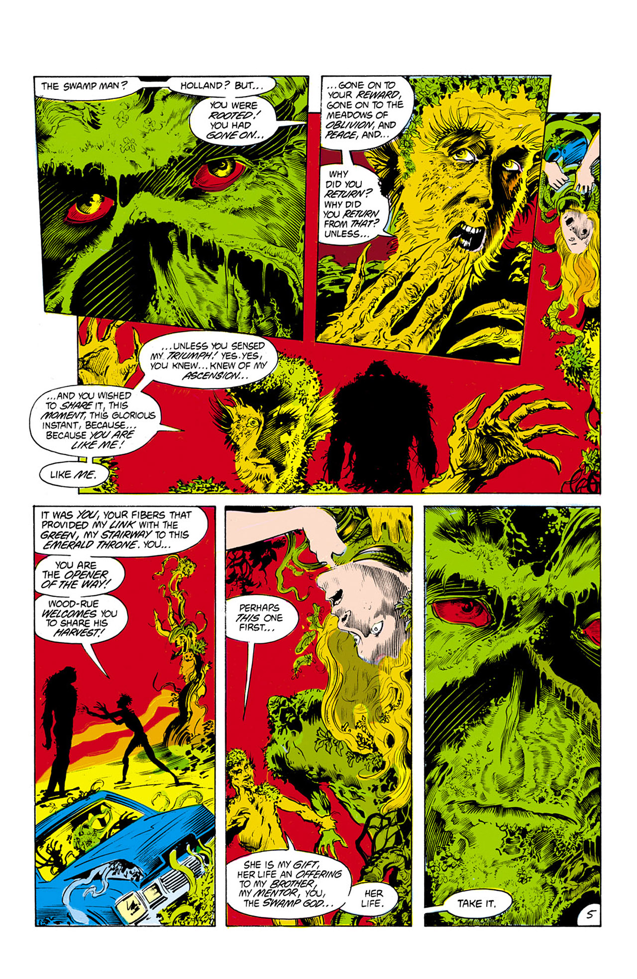 Swamp Thing (1982) Issue #24 #32 - English 6